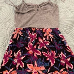 Roxy (S) Mini Floral Print Dress